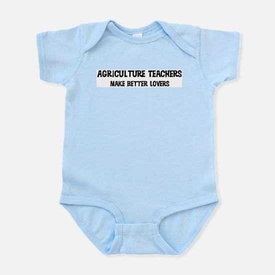 Agriculture Teachers: Better  Infant Creeper