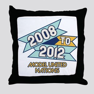 08 to 12 Model United Nations Throw Pillow