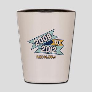 08 to 12 Rho Kappa Shot Glass