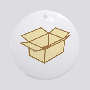 Cardboard box Ornament (Round)