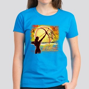 Katniss Radiant as the Sun Women's Dark T-Shirt