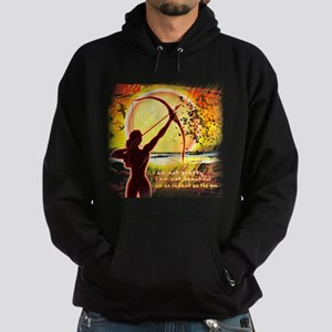 Katniss Radiant as the Sun Hoodie (dark)