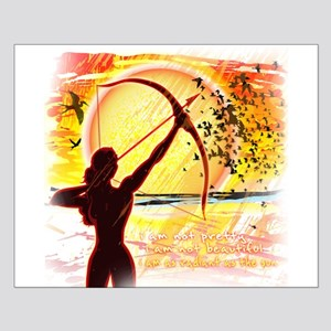 Katniss Radiant as the Sun Small Poster