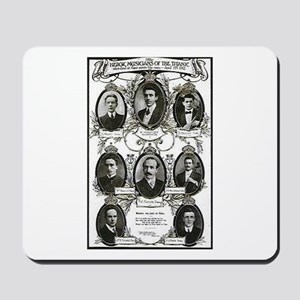 The Courageous Titanic Band Mousepad