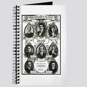 The Courageous Titanic Band Journal