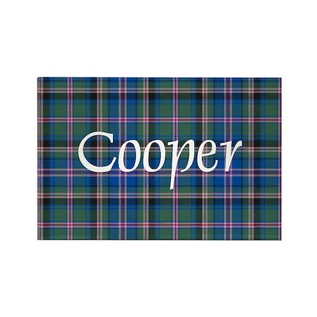 Tartan - Cooper Rectangle Magnet (10 pack)