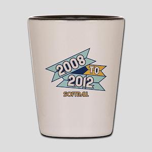 08 to 12 Softball Shot Glass