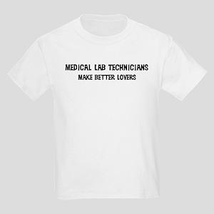 Medical Lab Technicians: Bett Kids T-Shirt