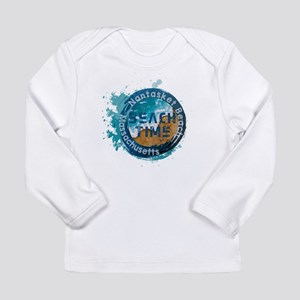Massachusetts - Nantasket Beac Long Sleeve T-Shirt