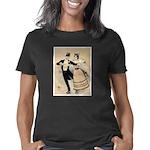 Couple Skating (1890) Women's Classic T-Shirt