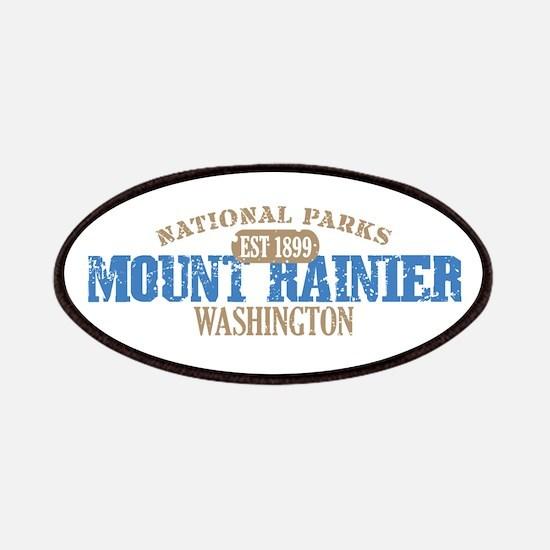 Mount Rainier National Park W Patches