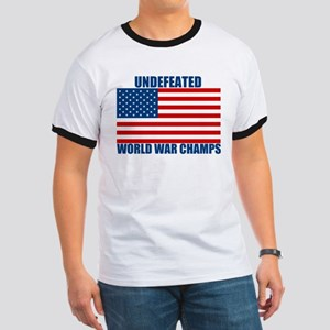 Undefeated World War Champs Ringer T
