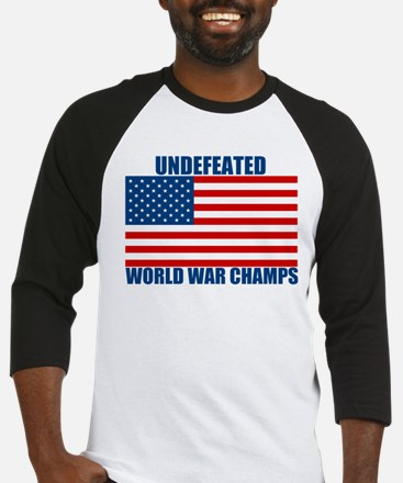 Undefeated World War Champs Baseball Jersey