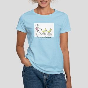 Ovary-Achiever (twin) Women's Light T-Shirt