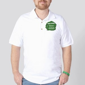 Wind Power Humor Golf Shirt
