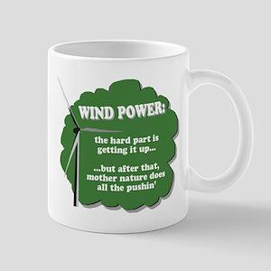 Wind Power Humor Mug
