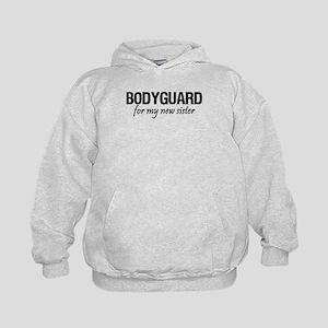 Bodyguard for my sister Kids Hoodie