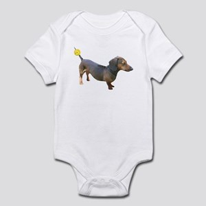 Chewy Antenna Ball Dachshund Infant Bodysuit