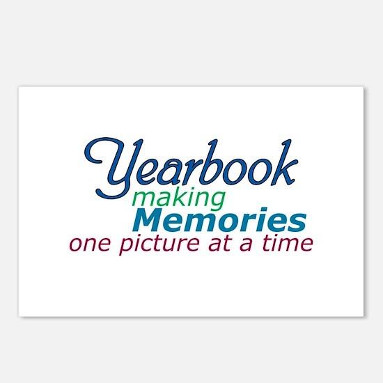 Yearbook Making Memories Postcards (Package of 8)