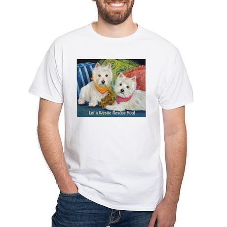 Let A Westie Rescue You! T-Shirt