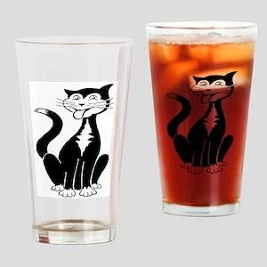 Kittykat Drinking Glass