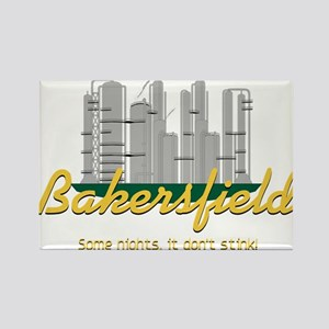 Bakersfield Stinks Rectangle Magnet