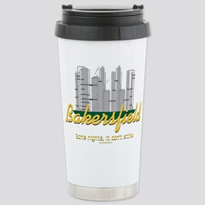 Bakersfield Stinks Stainless Steel Travel Mug