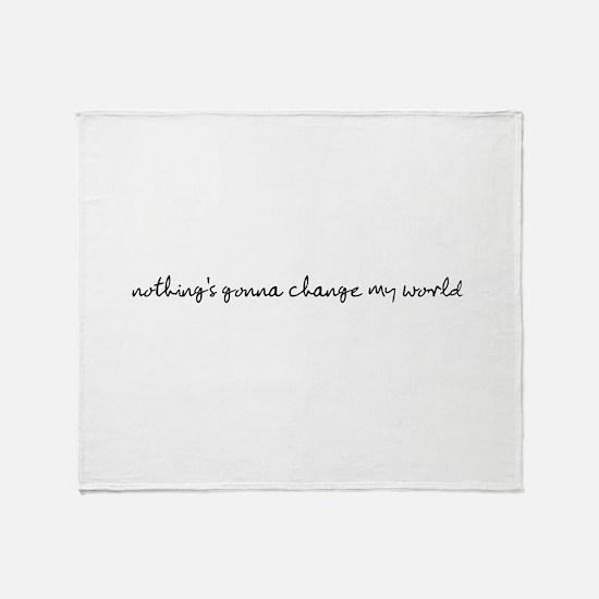 Cute Change Throw Blanket