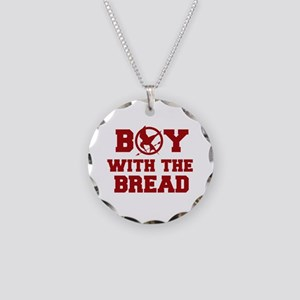 Boy with the Bread Necklace Circle Charm
