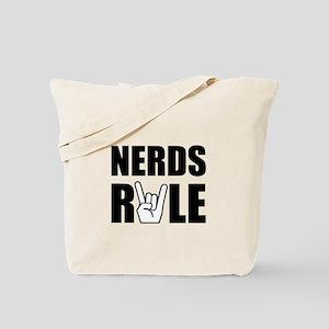 Nerds Rule Tote Bag