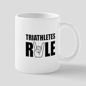 Triathletes Rule Mug