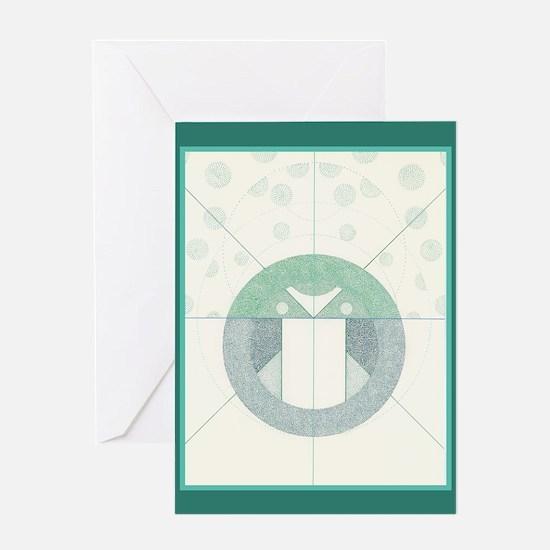 Unique Candomble Greeting Card