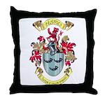 Holmes Crest Throw Pillow