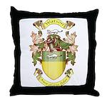 Watson crest Throw Pillow
