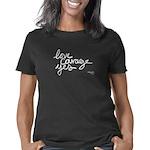 Love Courage Yes WHITE han Women's Classic T-Shirt