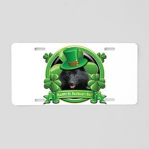 Happy St. Patrick's Day Schip Aluminum License Pla