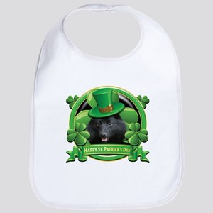 Happy St. Patrick's Day Schip Bib