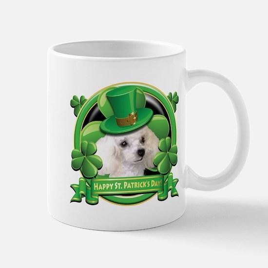 Happy St. Patrick's Day Poodl Mug