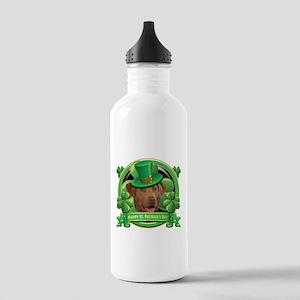 Happy St. Patrick's Day Chesa Stainless Water Bott