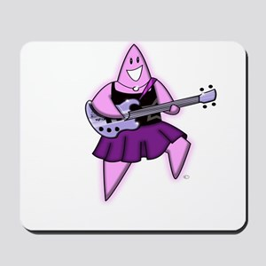 Girl Bass Guitar Rock A Bye S Mousepad
