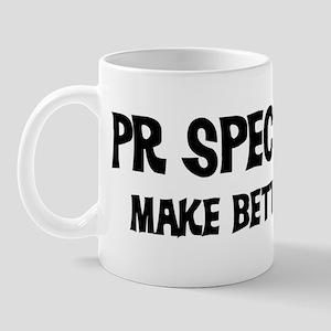 Pr Specialists: Better Lovers Mug