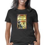 Shady Lady Saloon Print Women's Classic T-Shirt