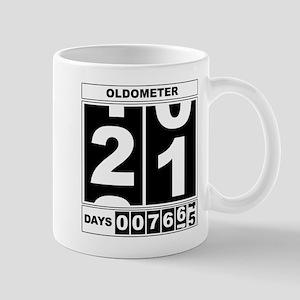 21st Birthday Oldometer Mug