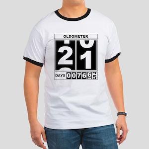 21st Birthday Oldometer Ringer T