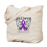 Believe Leiomyosarcoma Tote Bag