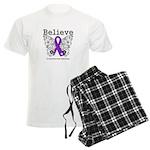 Believe Leiomyosarcoma Men's Light Pajamas