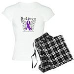 Believe Leiomyosarcoma Women's Light Pajamas