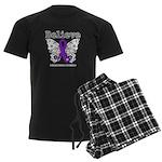 Believe Leiomyosarcoma Men's Dark Pajamas