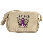 Believe Leiomyosarcoma Messenger Bag