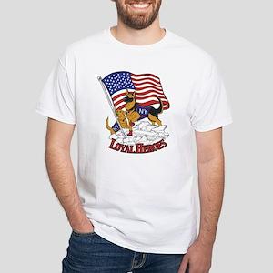 Loyal Heros White T-Shirt
